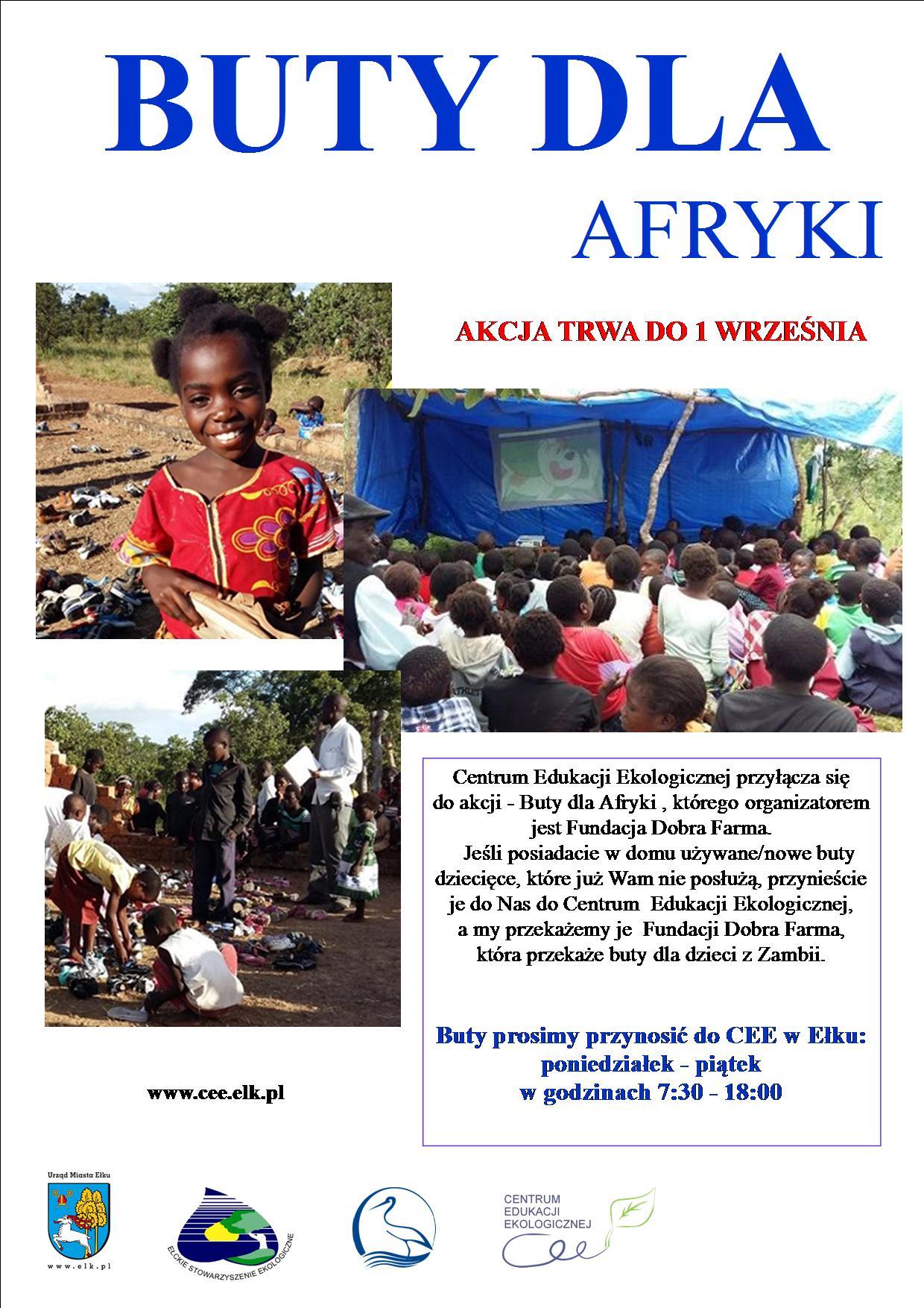 Buty Dla Afryki Centrum Edukacji Ekologicznej Elk